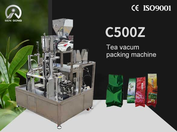 C500Z Tea vacum packing machine